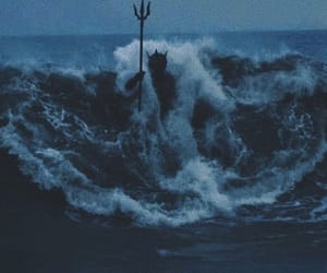 poseidon, ocean, and waves image