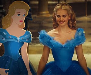 beautiful, cinderella, and disney image