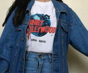 jeans, 90s, and outfit image