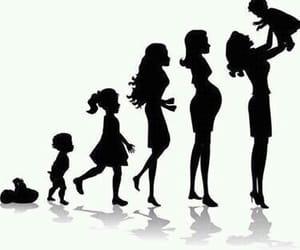 woman, baby, and life image