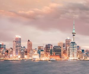 new zealand, traveling, and cityview image