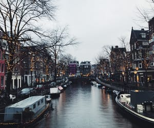 amsterdam, beautiful, and canals image