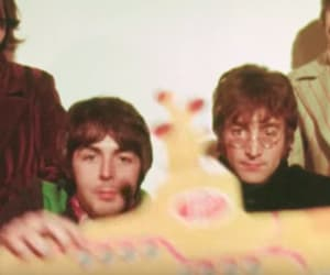 60s, beatles, and george image