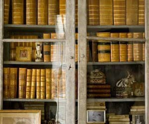 books, hp, and old image