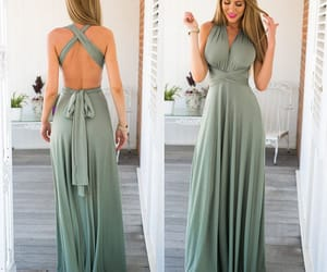 maxi dress and prom dress image