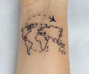tattoo, travel, and world image