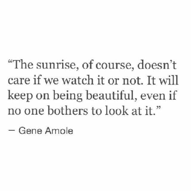 keep on being beautiful for yourself not for others