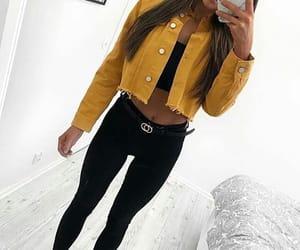 black, girl, and clothing image