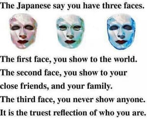 face, family, and words image
