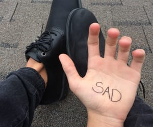 boy, shoes, and hand image