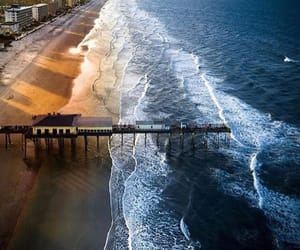 beach and florida image