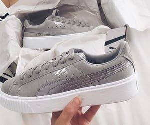 fashion, puma, and shoes image