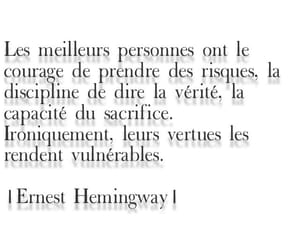 amour, Citations, and ernest hemingway image