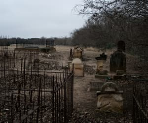 cemetery, graves, and graveyard image