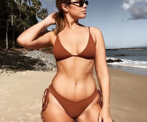 beautiful, body, and brown image