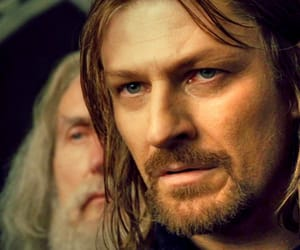 lord of the ring, the human, and boromir image
