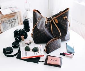 bag, camera, and fashion image