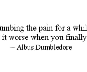 harry potter, pain, and quotes image