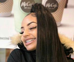 braces, eyelashes, and hair image