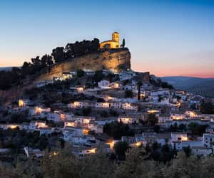 city, travel, and Granada image