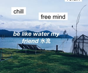 blue, chill, and relax image