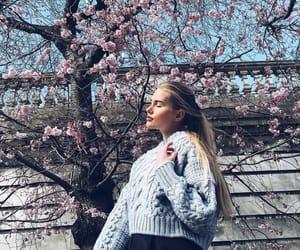 girl, fashion, and spring image