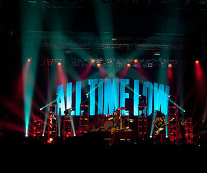 all time low and concert image