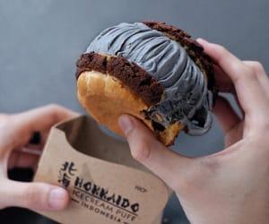cream puff, dessert, and Hokkaido image