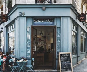 blue and cafe image