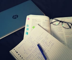 anatomy, laptop, and pen image