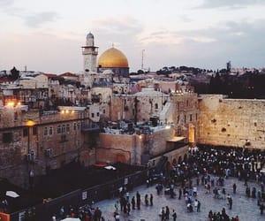 allah, Jerusalem, and islam image