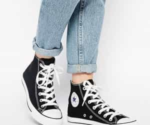 converse and black image