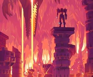 game, video game, and samus aran image