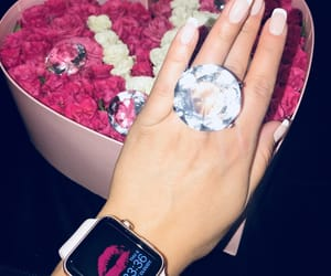 diamonds, flowers, and french image