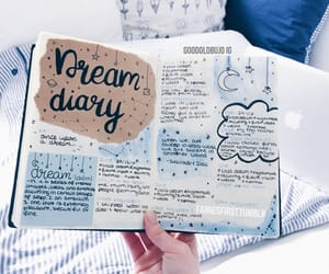 bullet, journalling, and diary image