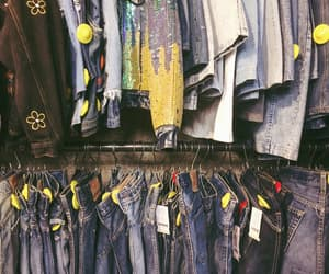 denim, jeans, and second hand image