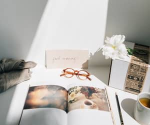 book, morning, and light image