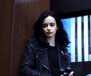 angry, gif, and krysten ritter image