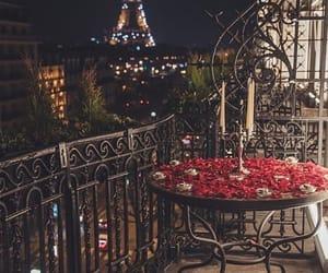 night and paris image
