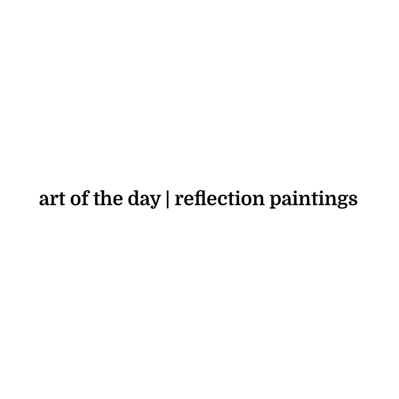art, articles, and reflection image