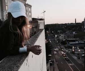 girl, city, and tumblr image
