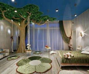 room, bedroom, and kids image