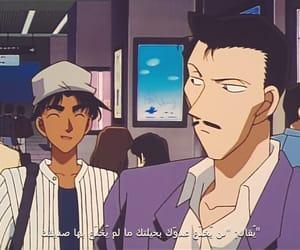 detective conan, heiji hattori, and كونان image