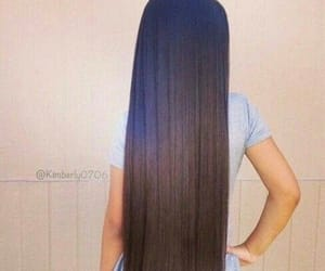 hair, long, and long hair image