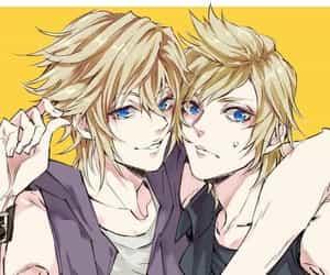 blond, blue eyes, and final fantasy VII image