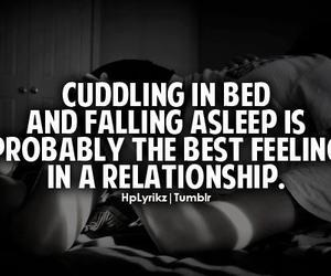 Relationship, love, and cuddling image