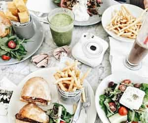 food, fries, and healthy image