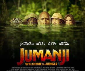 Dwayne Johnson, jack black, and jumanji image