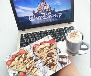 chocolate, coffee, and strawberries image