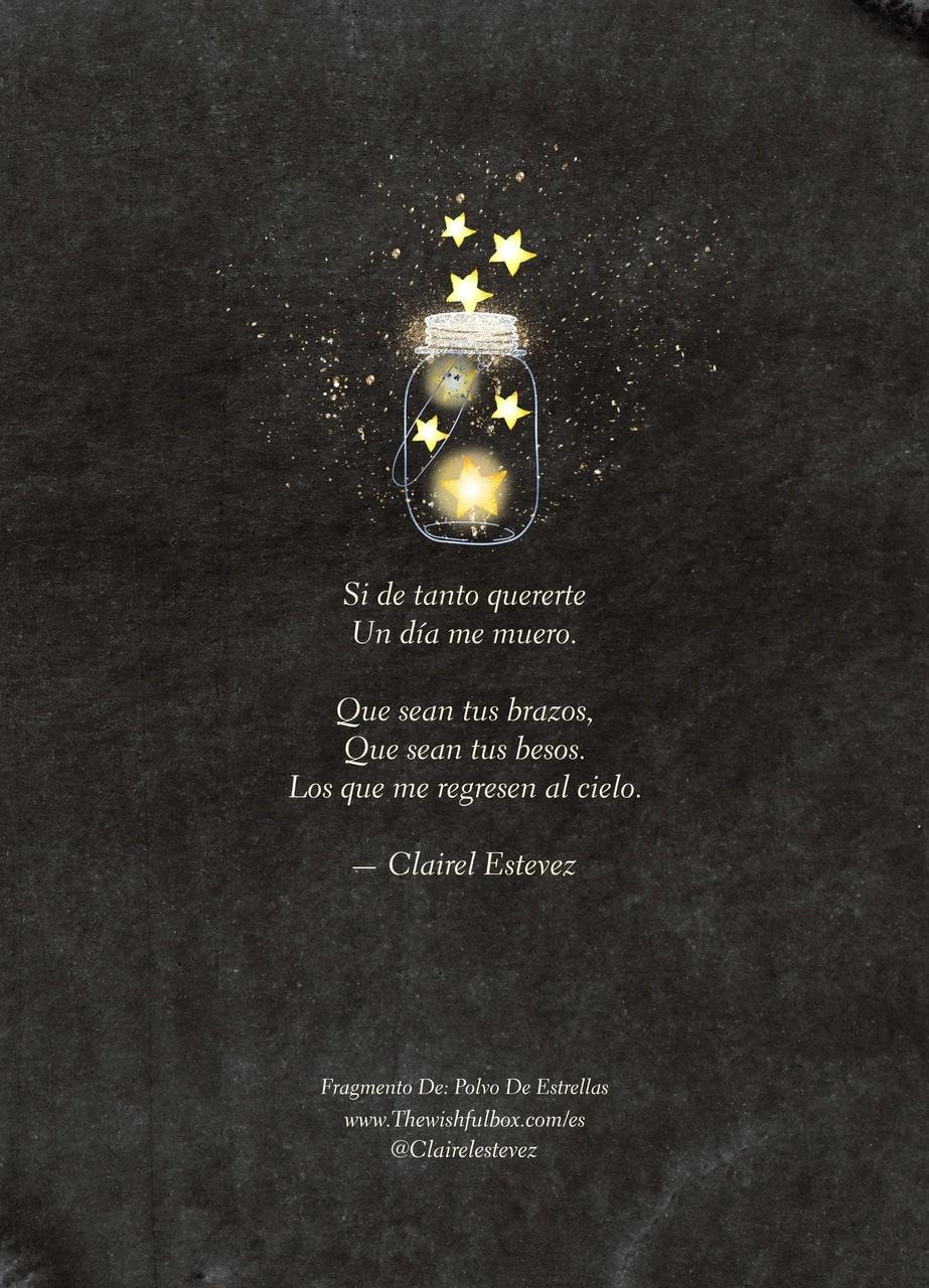Un Fragmento De Mi Poema Polvo De Estrellas Poemas